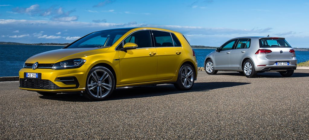 2017 Volkswagen Golf 7.5 review video