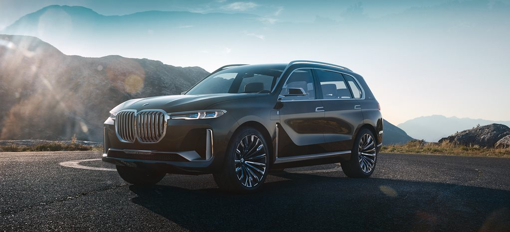 2017 BMW X7 iPerformance Concept revealed