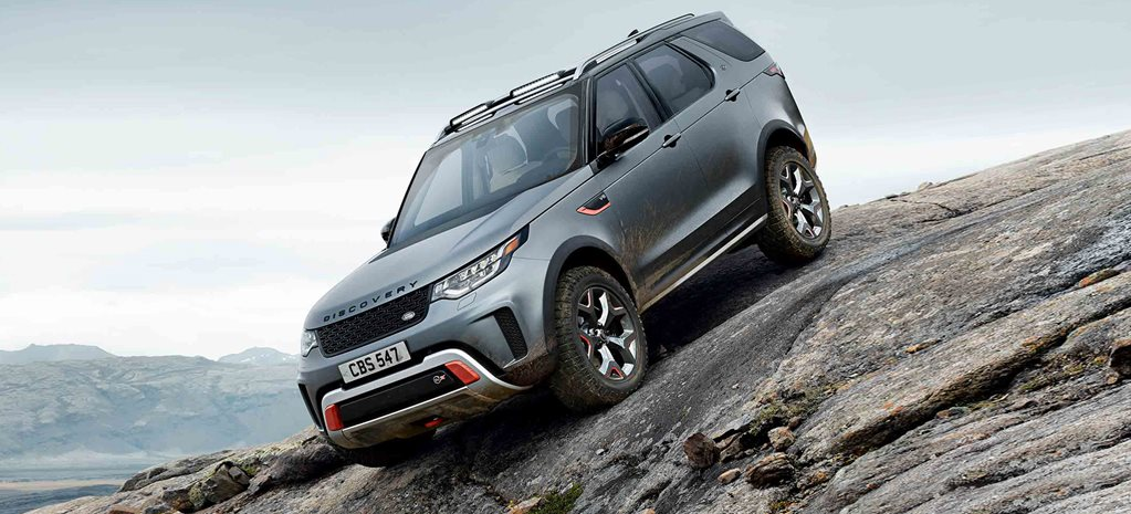 Land Rover Discovery Svx Gets 50 Supercharged V8