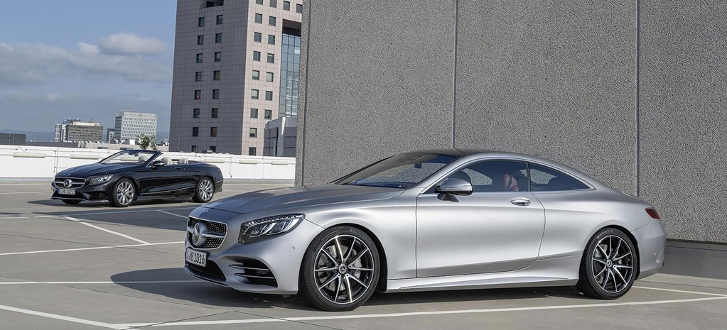 2018 mercedes benz s class coupe and cabriolet revealed. Black Bedroom Furniture Sets. Home Design Ideas