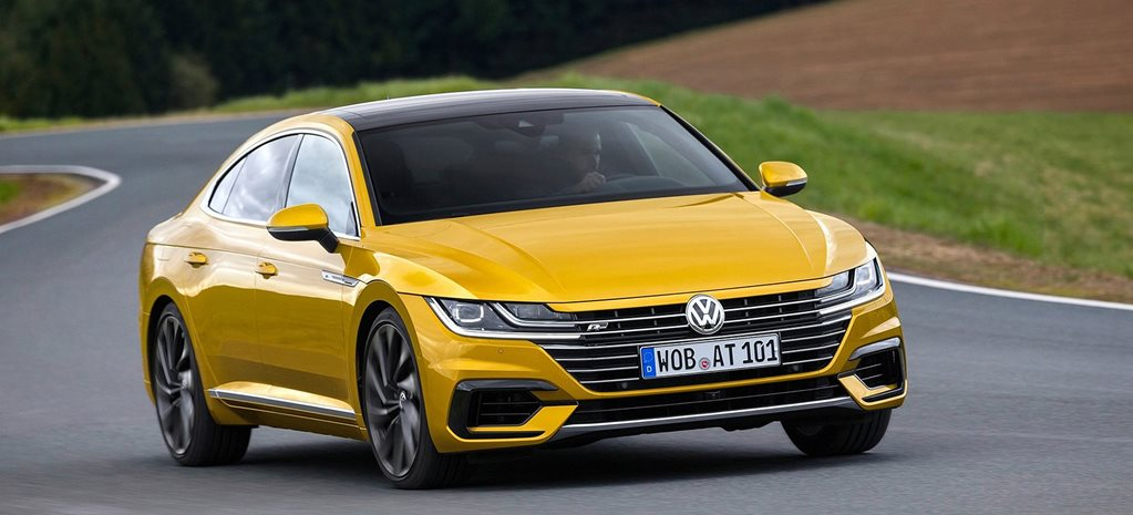 2018 volkswagen arteon r line pricing announced. Black Bedroom Furniture Sets. Home Design Ideas