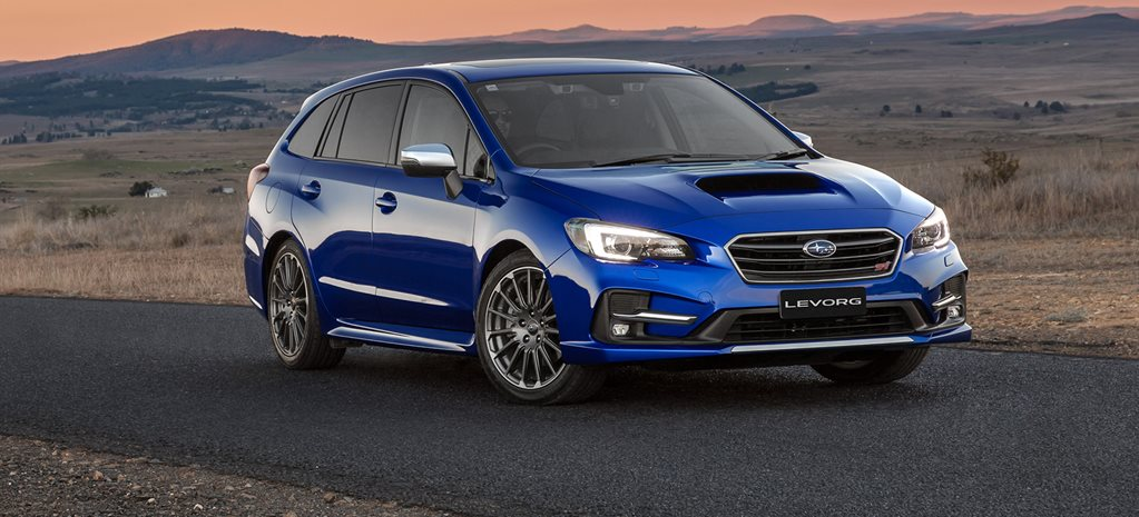 2017 Subaru Levorg 2.0 STi Sport quick review