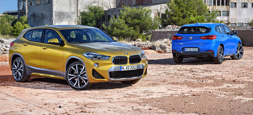 2018 BMW X2 unveiled