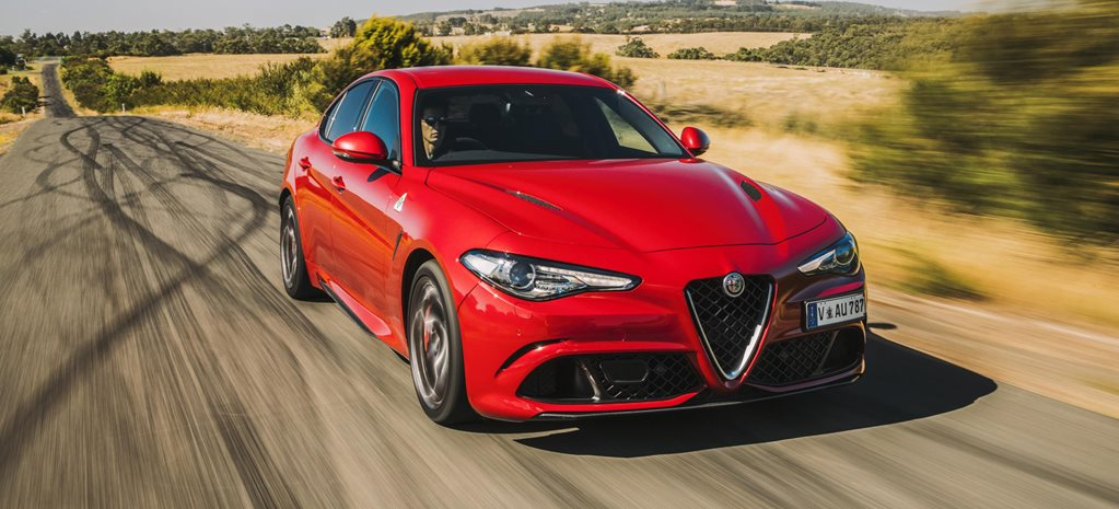 2017 Alfa Romeo Giulia QV quick review