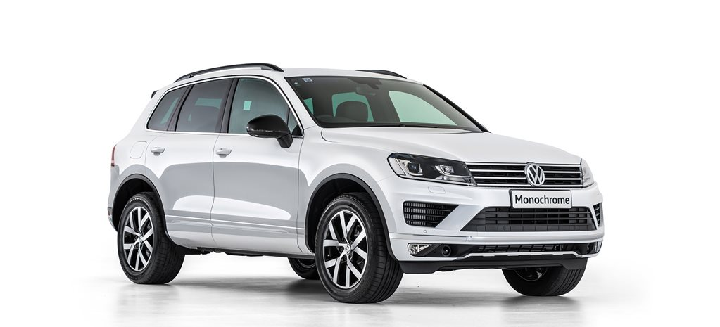 2017 Volkswagen Touareg Monochrome revealed