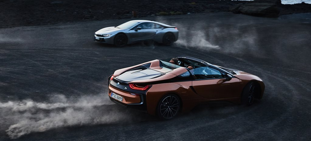 2017 LA Motor Show 2018 BMW i8 Roadster revealed, Coupe facelifted