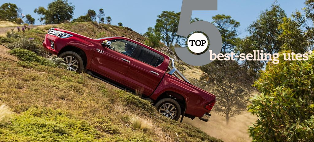 Top 5 Best-selling utes