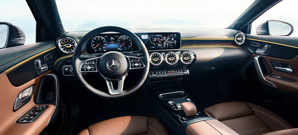2018 Consumer Electronic Show Benz switches on new infotainment system