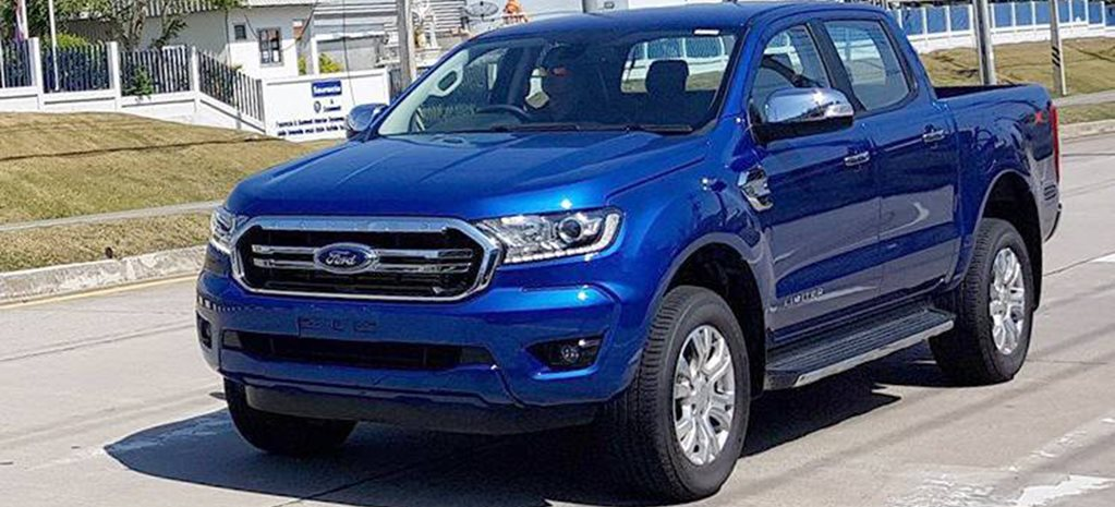 2018 ford ranger facelift spied. Black Bedroom Furniture Sets. Home Design Ideas