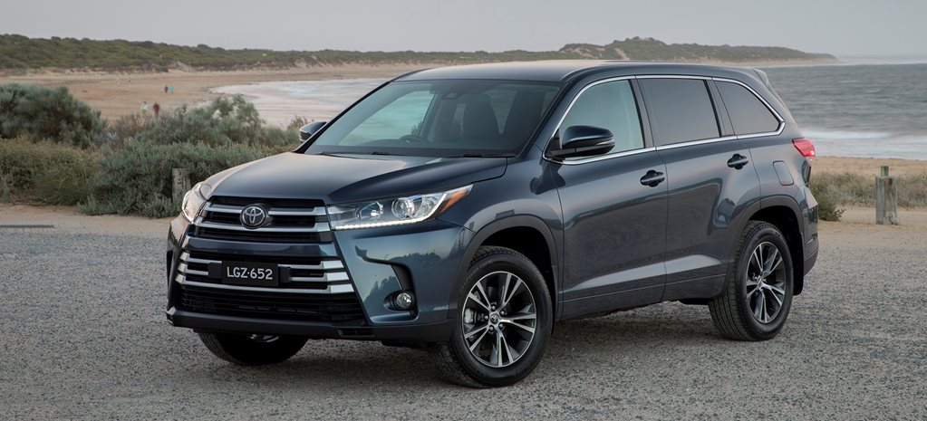 Toyota Kluger rolls out auto braking across 2018 range