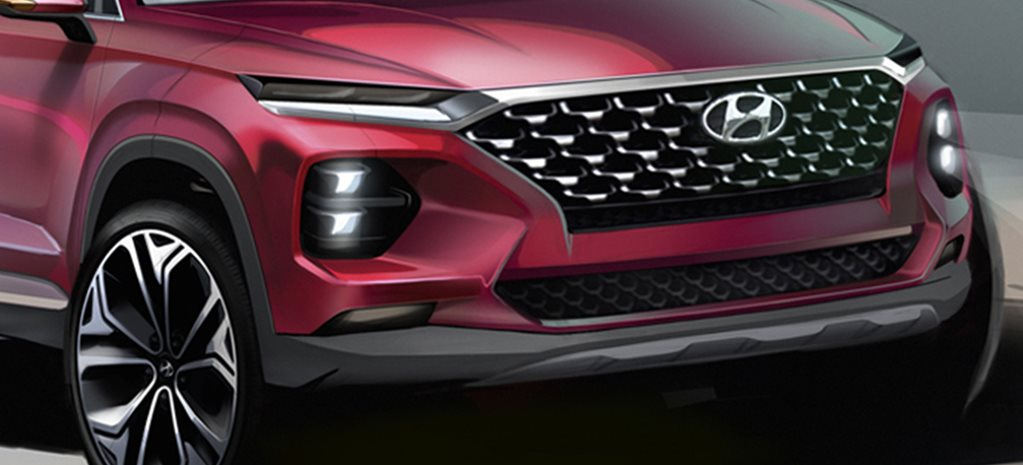 2018 Hyundai Santa Fe takes a revolutionary design leap