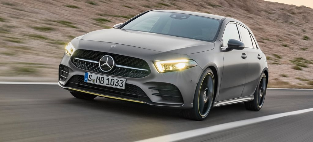 2018 Mercedes-Benz A-Class revealed in the metal