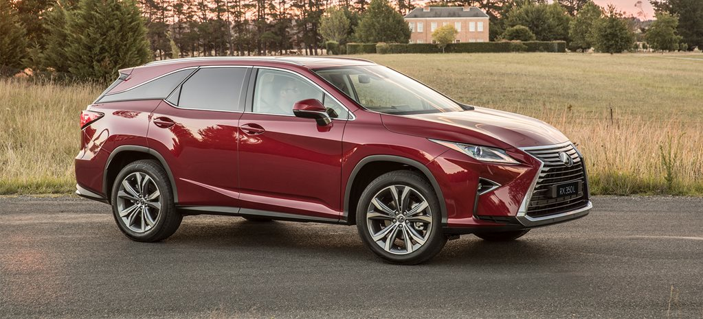 Lexus RX 7-seater arrives in Oz