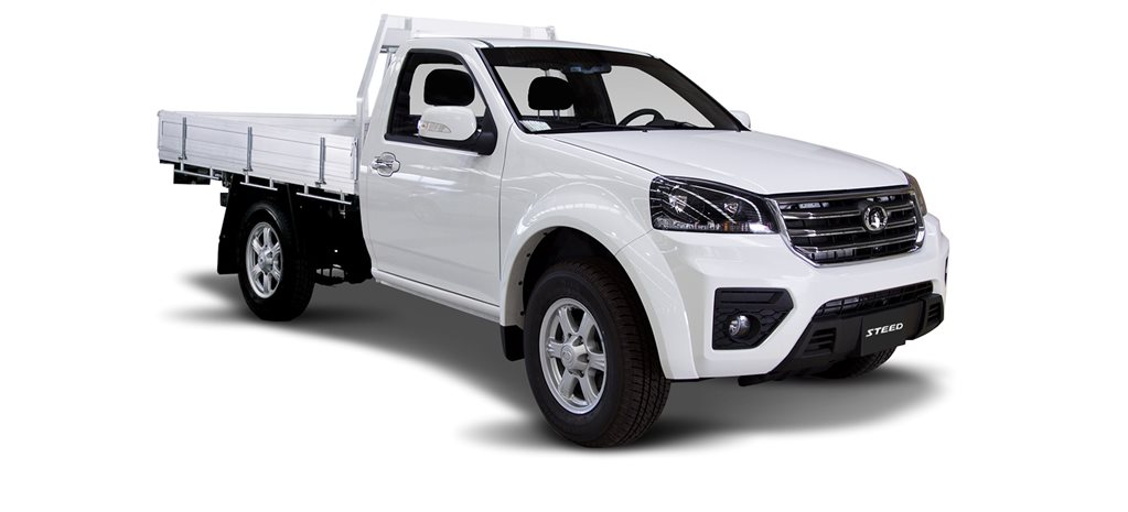 Great Wall Steed single cab vs Toyota Hilux Workmate cab chassis