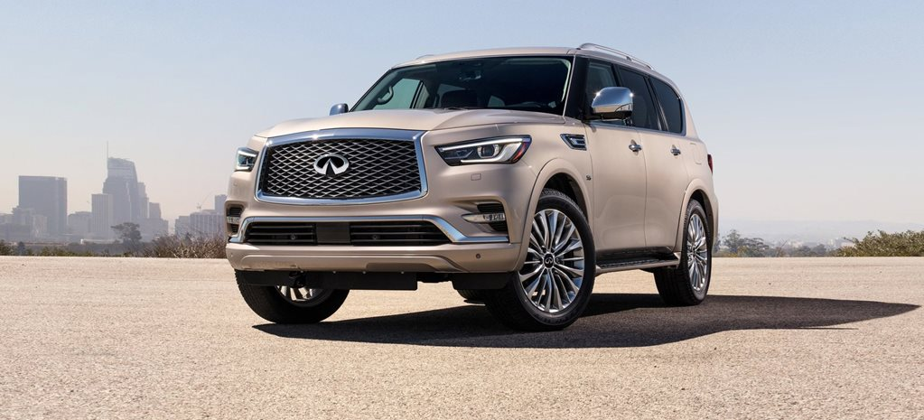 2018 Infiniti QX80 pricing and specification announced