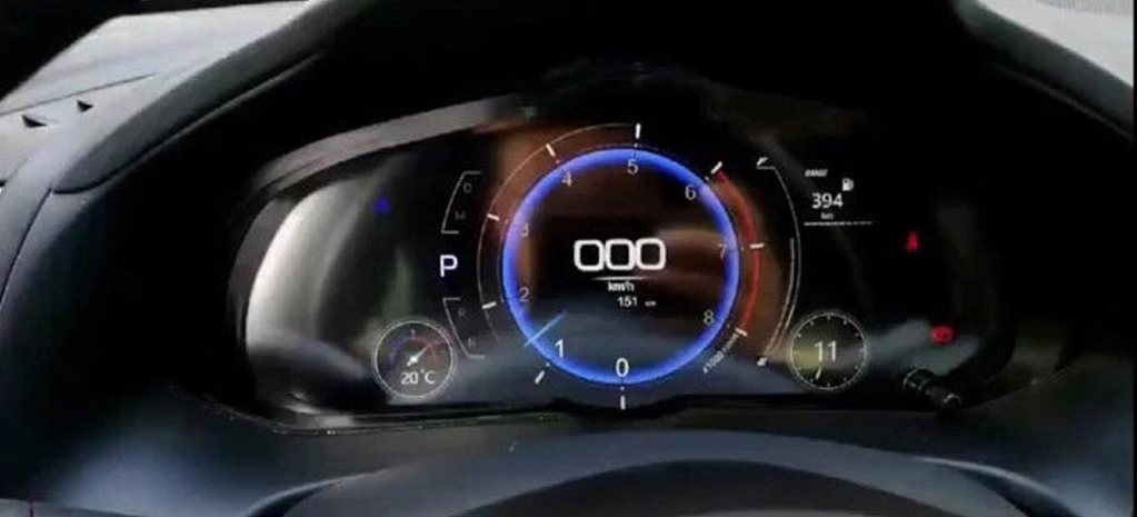 Spy shots show digital gauges for Mazda 3
