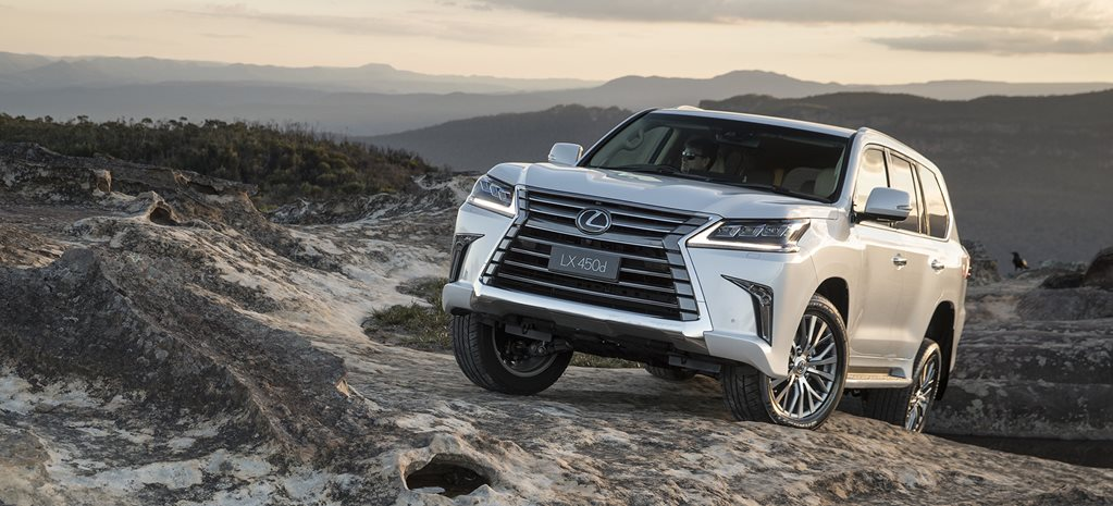 2018 Lexus LX gains twin-turbo diesel power