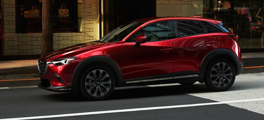 2018 New York Motor Show Mazda CX-3 facelift revealed