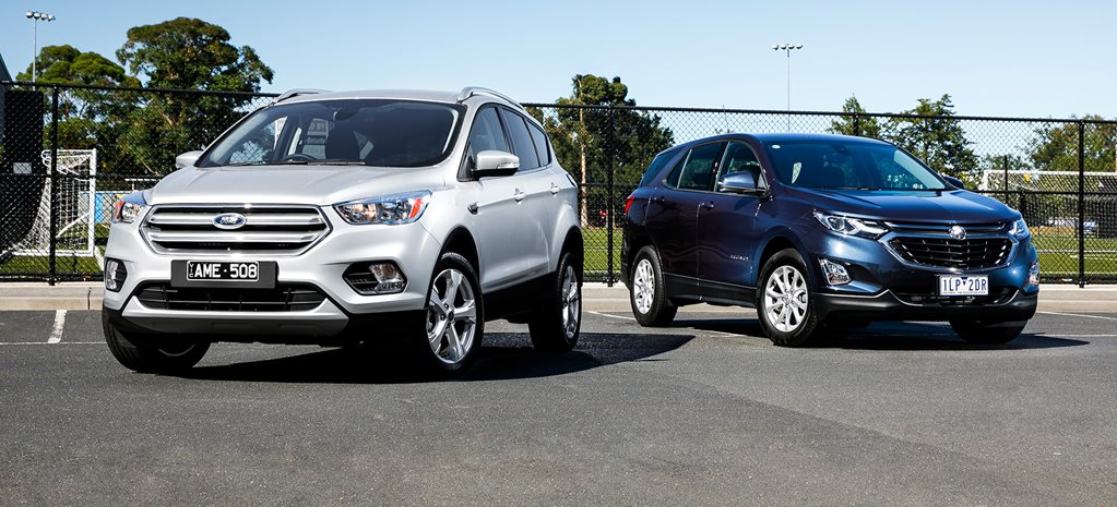 Ford Escape Trend FWD v Holden Equinox LS+ comparison review