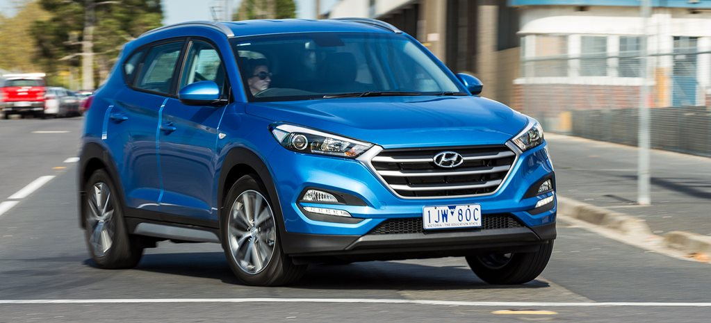 Hyundai Tucson Active X review: Medium SUV megatest 6th