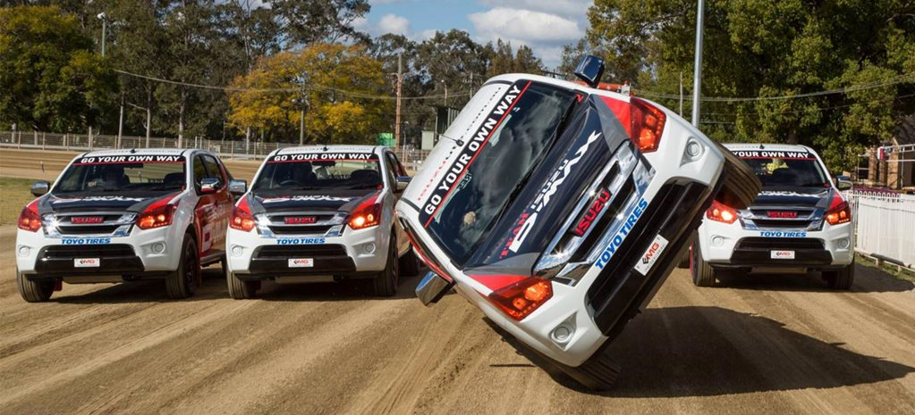 Team D Max shows off its bag of tricks