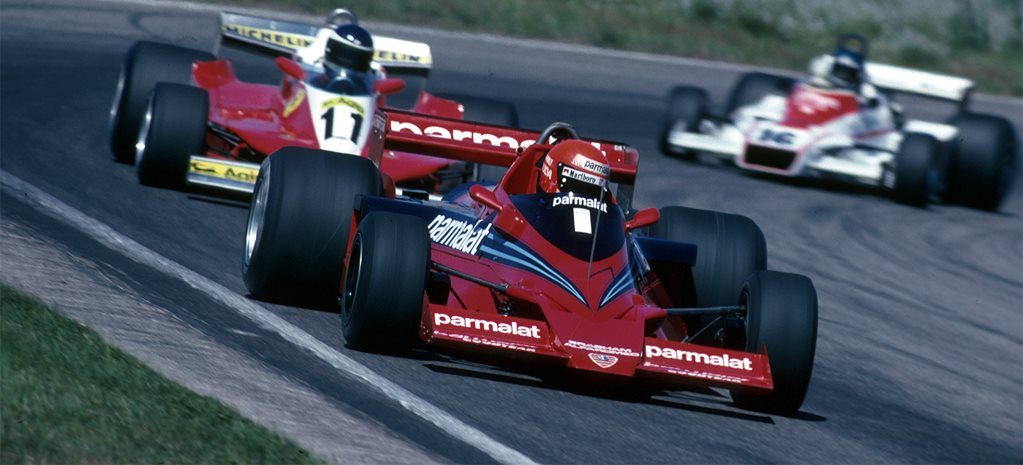 Five of Brabham's best cars