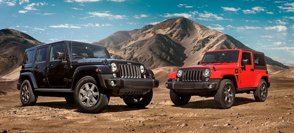 Jeep JK Wrangler Golden Eagle and Freedom limited edition