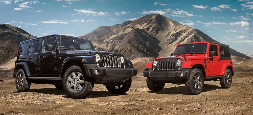 Jeep Wrangler Golden Eagle and Freedom Edition announced
