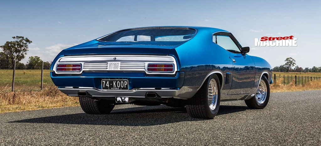 Elite-level 427ci Windsor-powered 1974 Ford Falcon XB hardtop