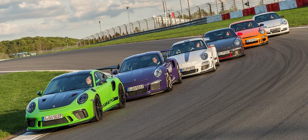 History of the Porsche 911 GT3 RS feature