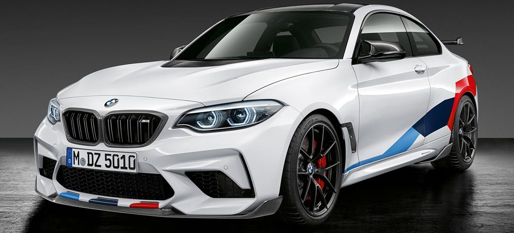 BMW M2 Competition scores M Performance parts range latest news