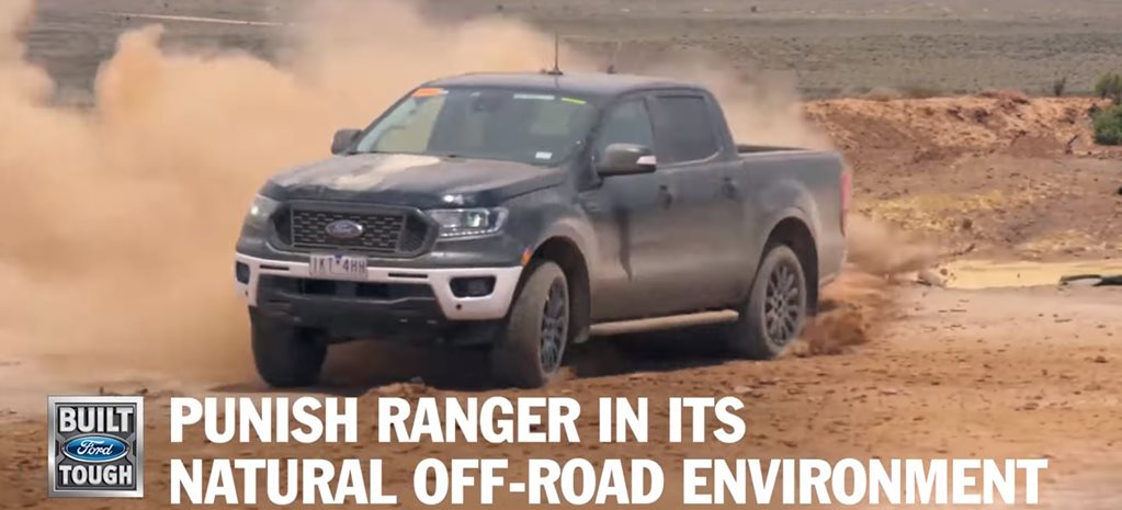 Ford Ranger development aus outback