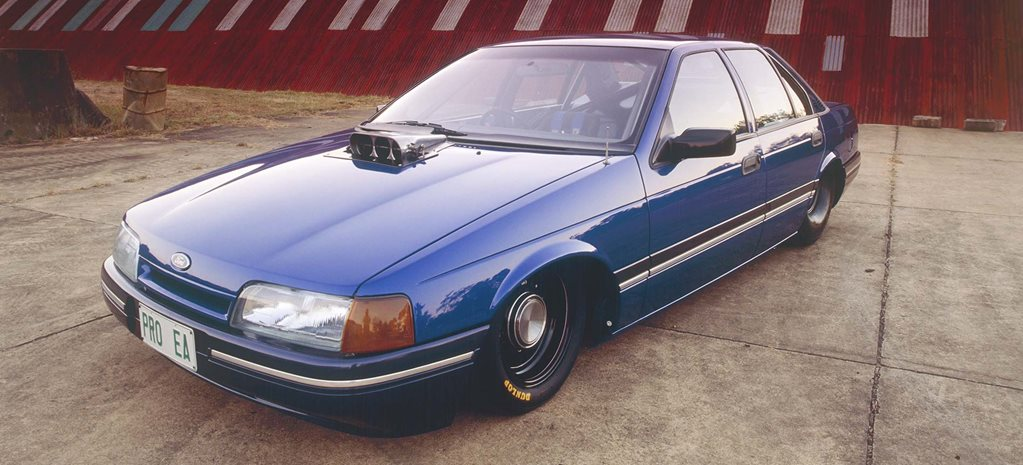 Blown 351 Windsor-powered Pro-Street 1990 Ford EA Fairmont