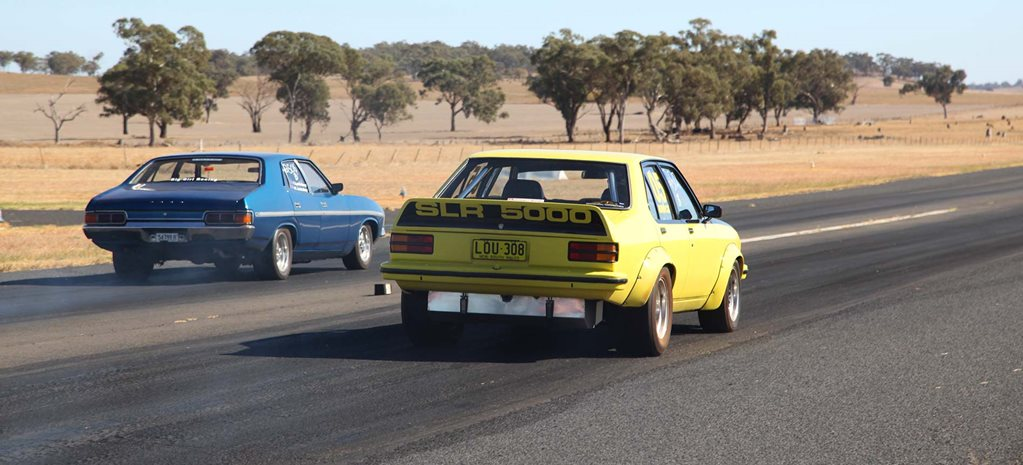 Eighth-mile drag racing action at Bodangora Airstrip – Video