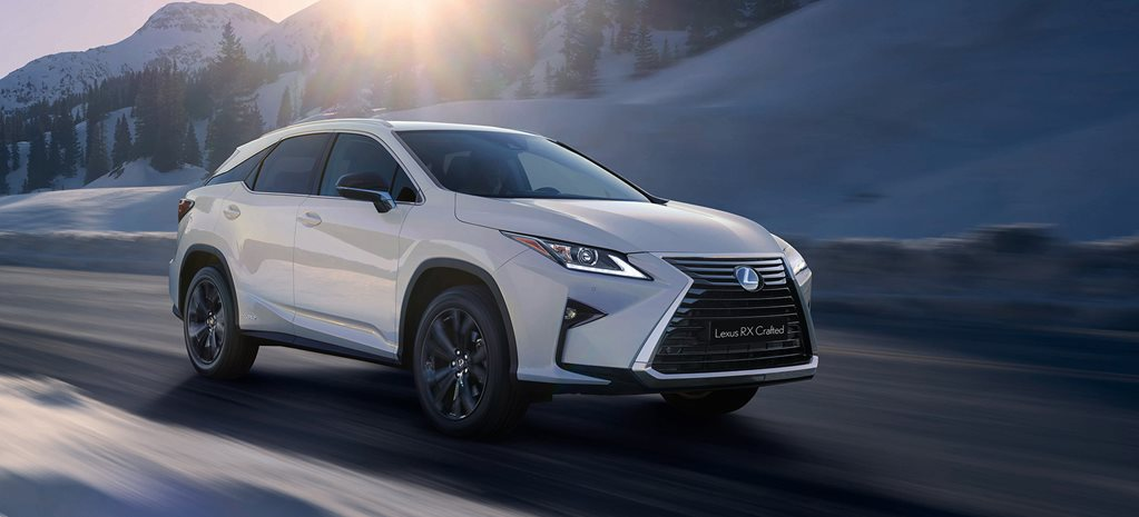 2018 Lexus RX Crafted special edition revealed