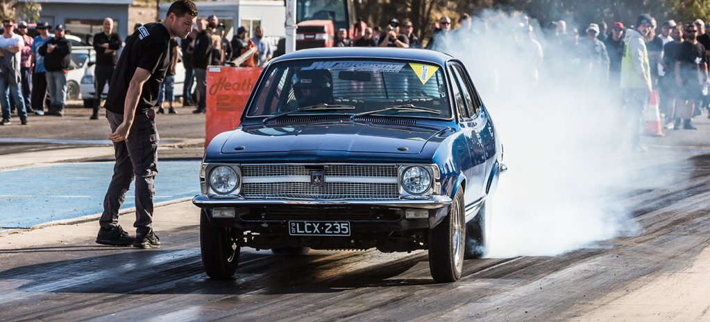 Eight-second RB-powered LC Torana on 235 radials – Video