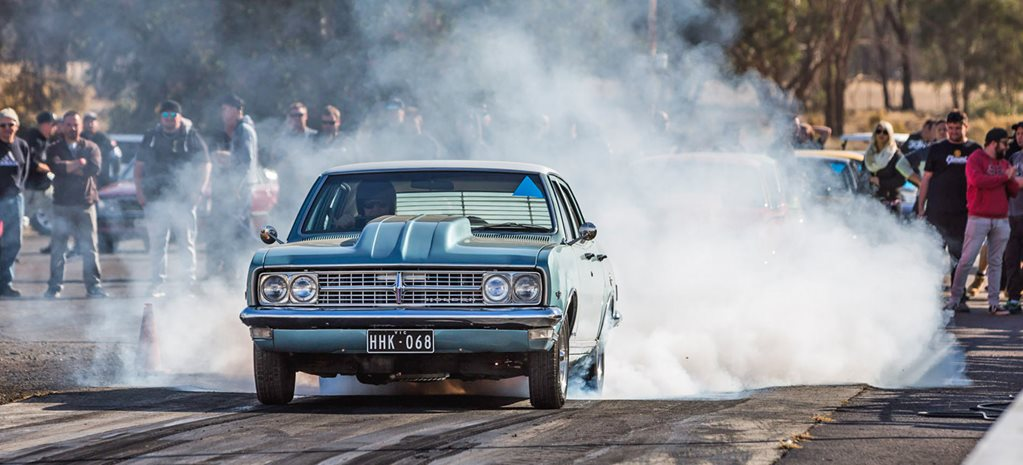 Holden 355-powered HK Premier at the Holden Nationals