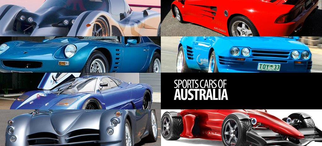 Sports cars of Australia feature
