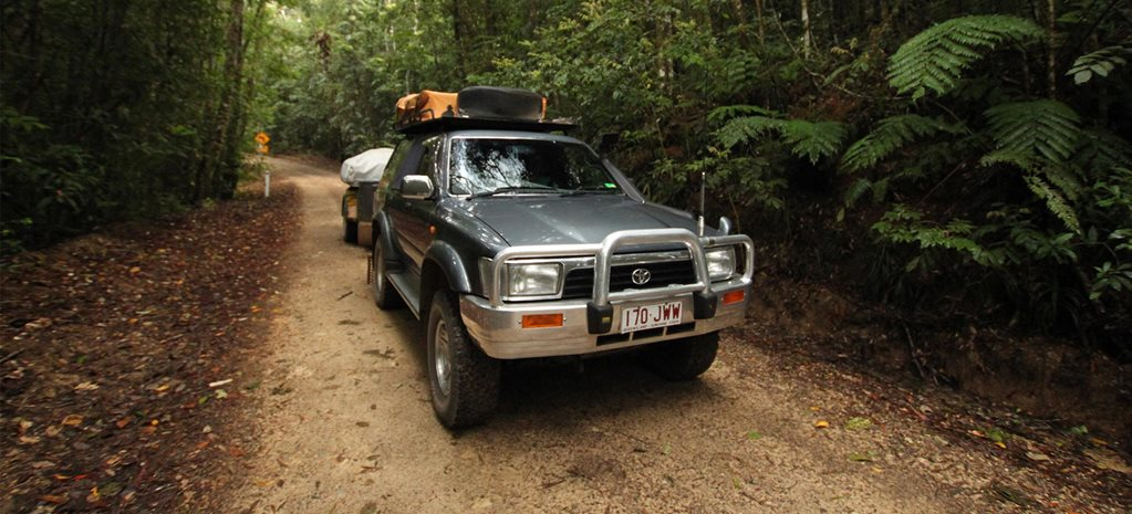 4x4 trip to Paluma Range NP Queensland