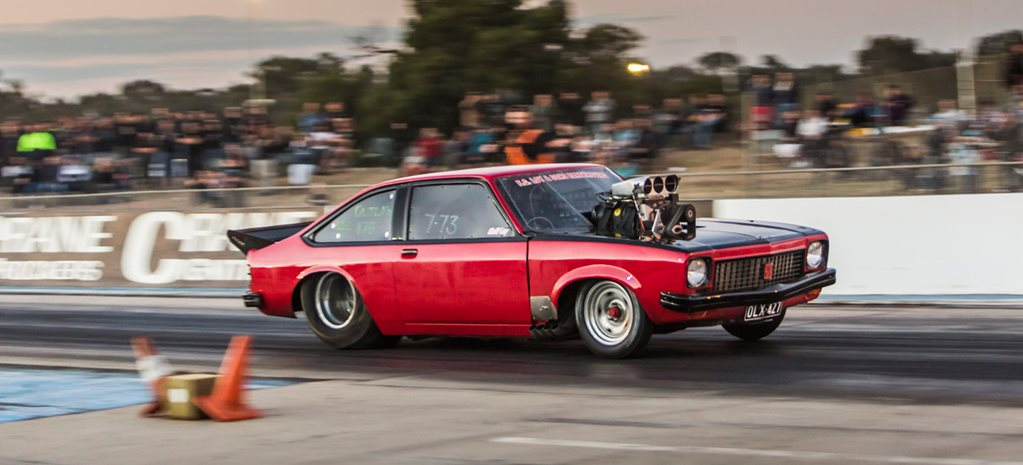 21-year-old races a seven-second blown Torana – Video