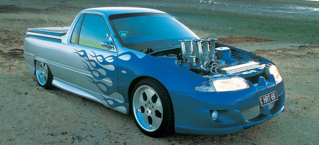 Injected 1994 Holden VR Commodore ute