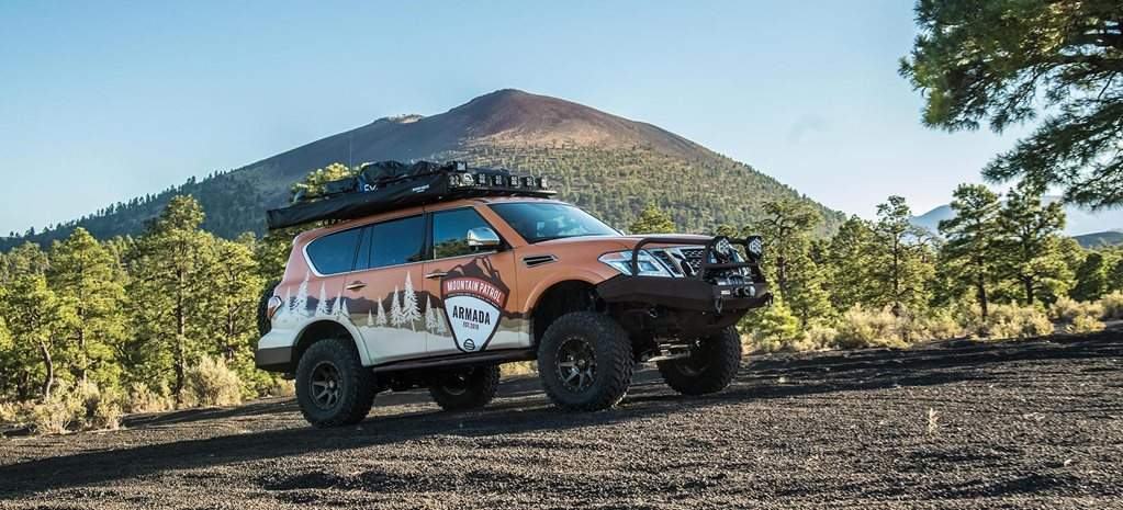 Nissan Armada Mountain Patrol revealed in the USA news