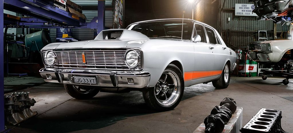 688hp street and strip 1969 Ford Falcon XT