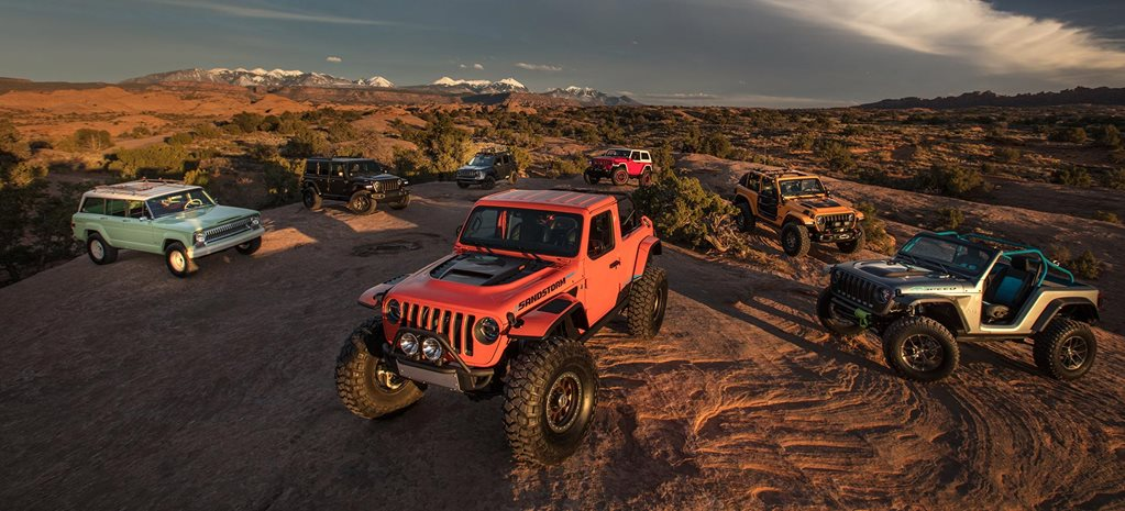 2018 Moab Easter Jeep Safari - Concept 4x4 highlights