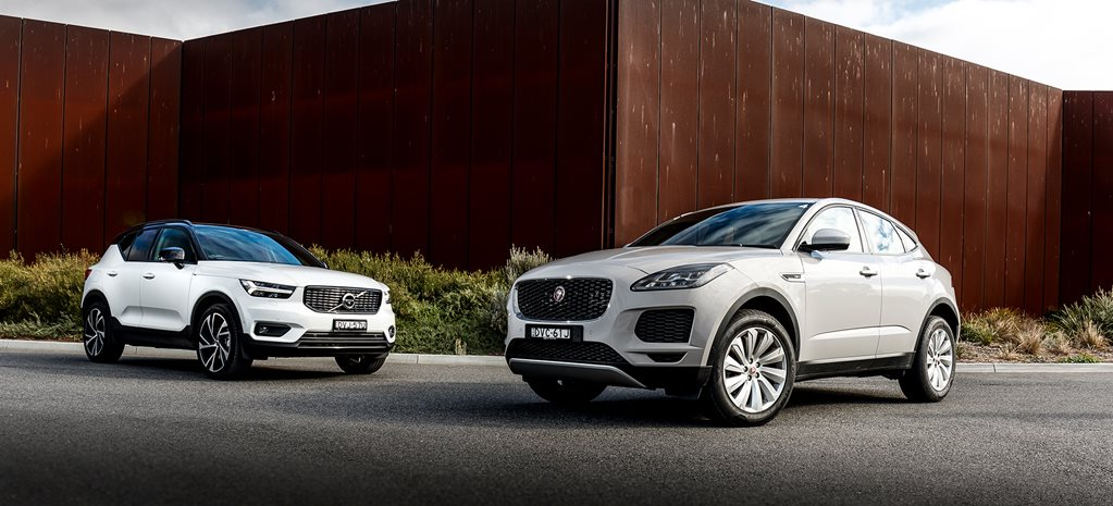 Jaguar E-Pace P250 S vs Volvo XC40 T5 R-Design comparison review