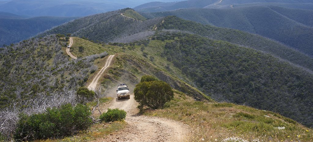 victoria high country 4x4 tracks