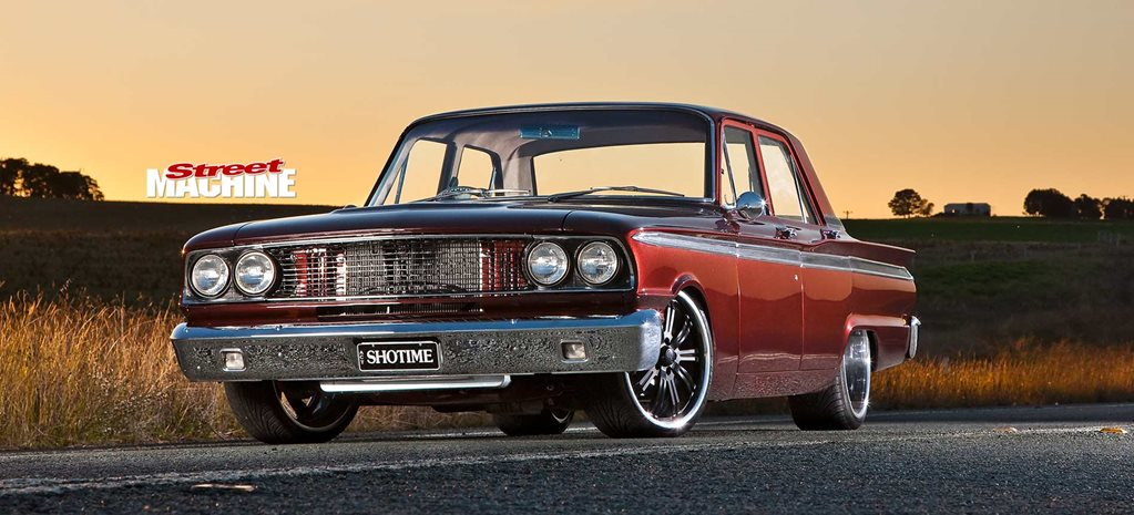 Ex-Howard Astill 1963 Ford Compact Fairlane showstopper
