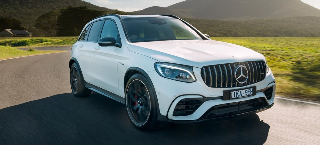 2018 Mercedes AMG GLC63 S performance feature