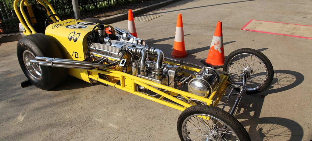 Mooneyes Dragster