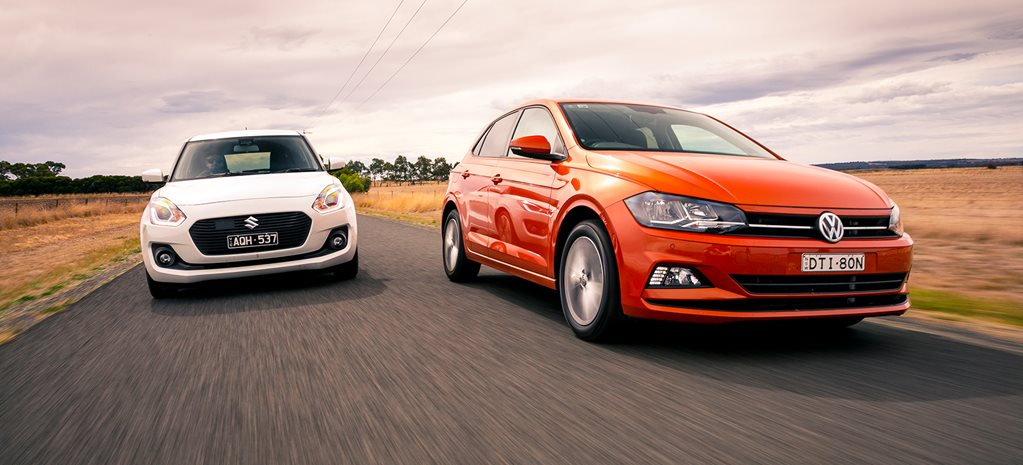 Volkswagen Polo 85TSI v Suzuki Swift GLX Turbo comparison review
